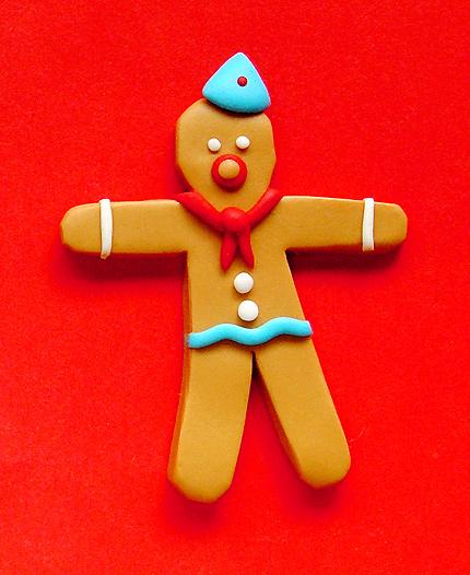 Gingerbread Pioneer